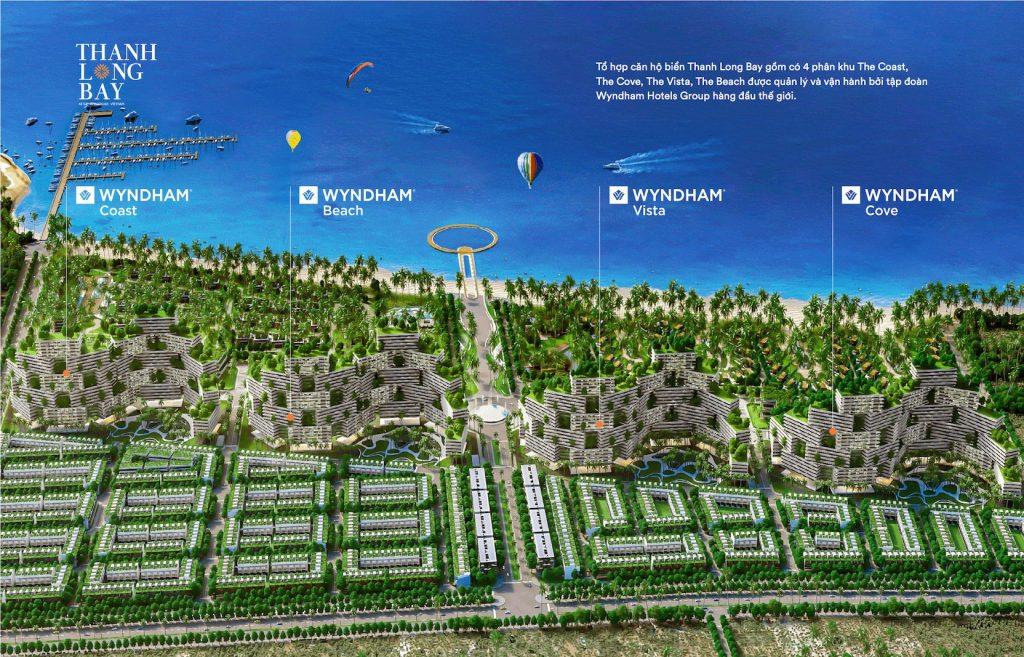 8000 căn hộ biển thanh long bay Nam Group từ 1 đến 3 phòng ngủ