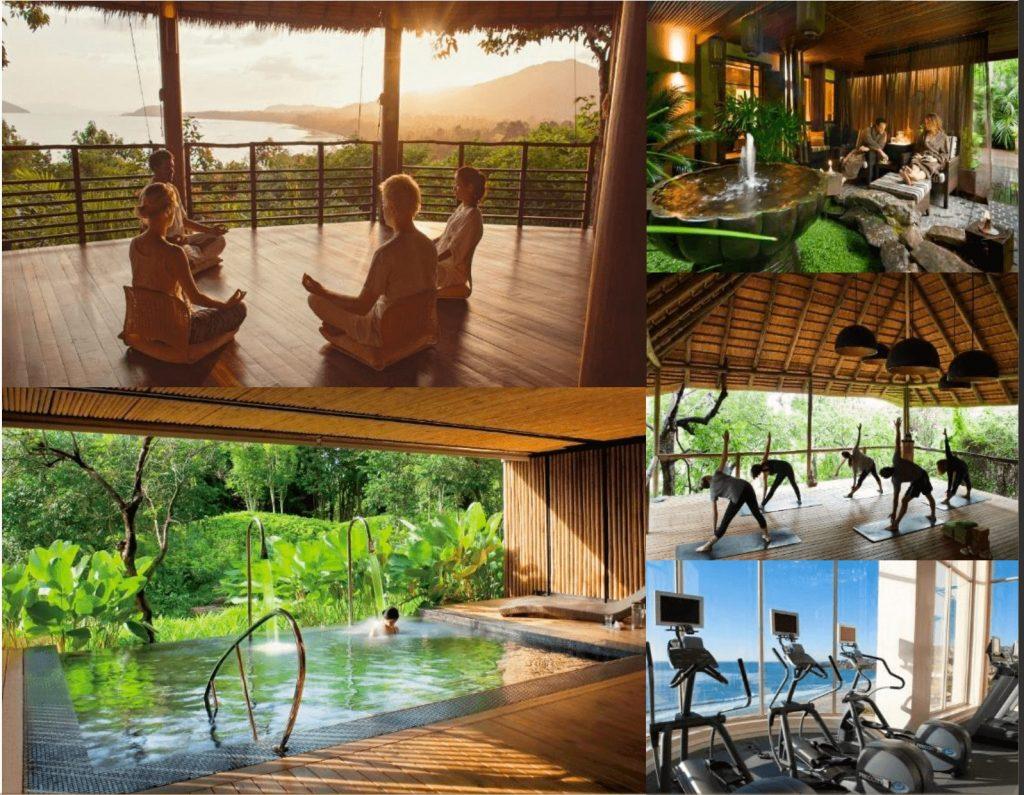 Tiện ích dự án wellness spa Thanh Long Bay