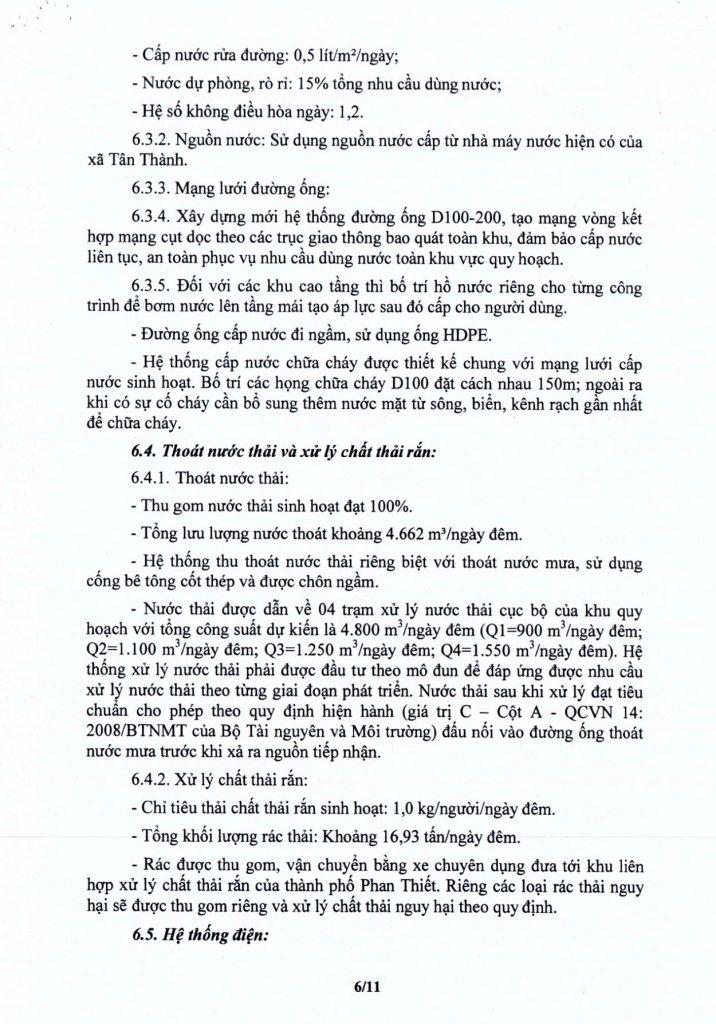 quy hoạch 1/500 dự án Thanh Long Bay