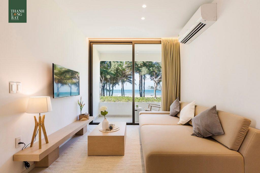 Phòng Khách căn hộ Thanh Long Bay