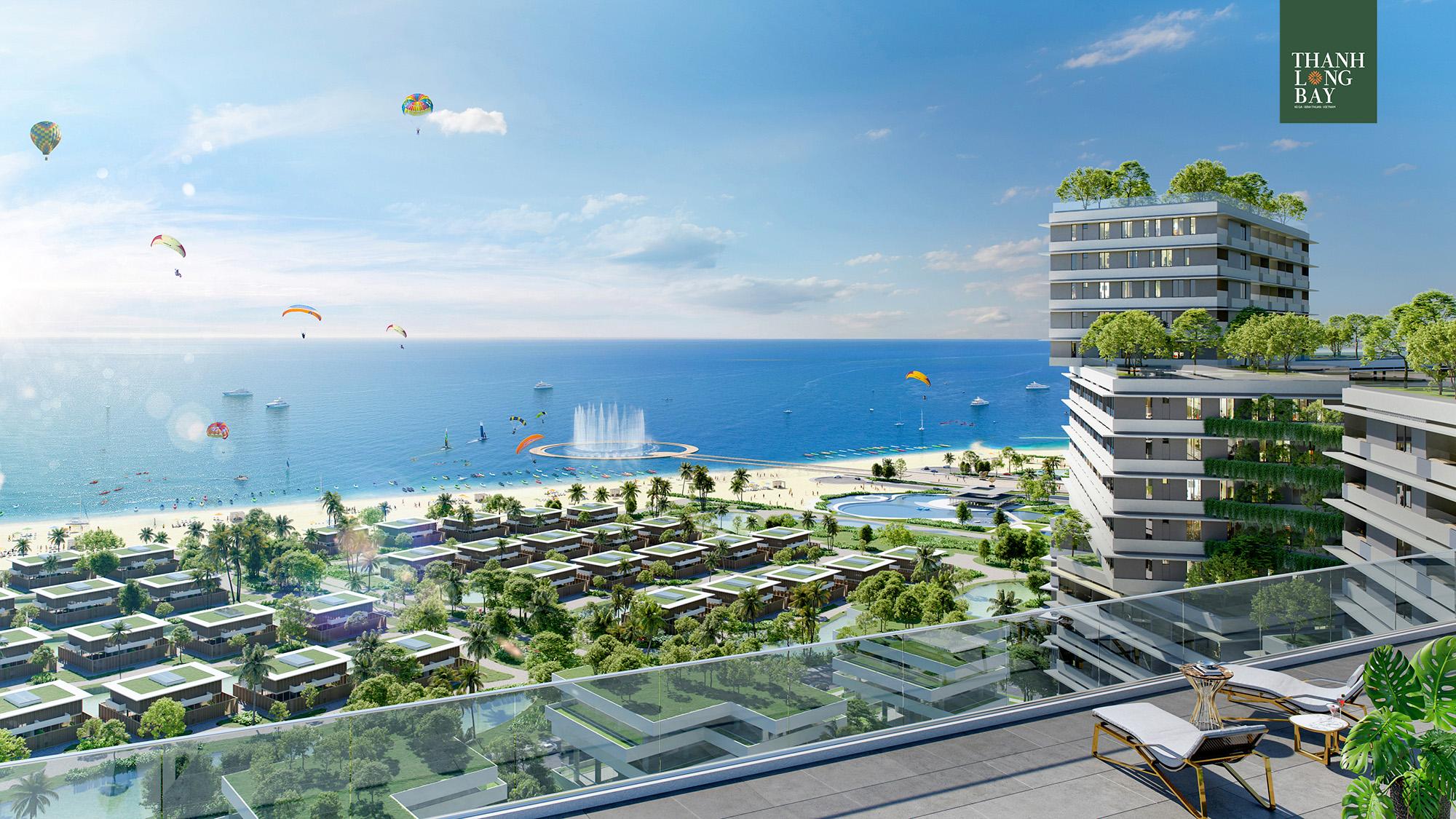 Nhà Phố Biển Thanh Long Bay