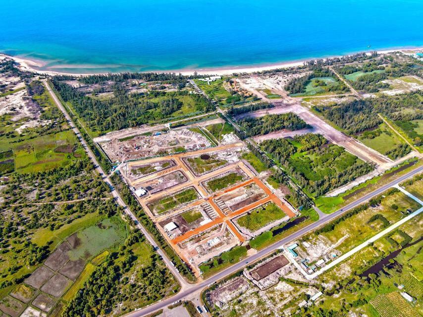 Vị trí tiếp giáp của 3 mặt tiền của dự án Thanh Long Bay Bình Thuận