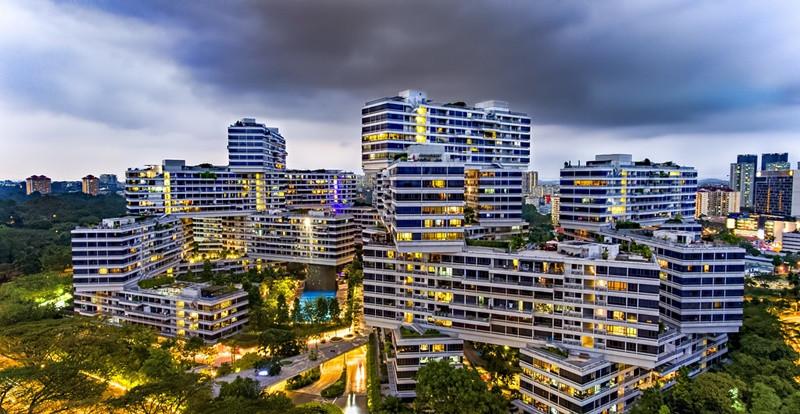 Chung Cư có thiết kế đẹp nhất thế giới Interlace Singapore