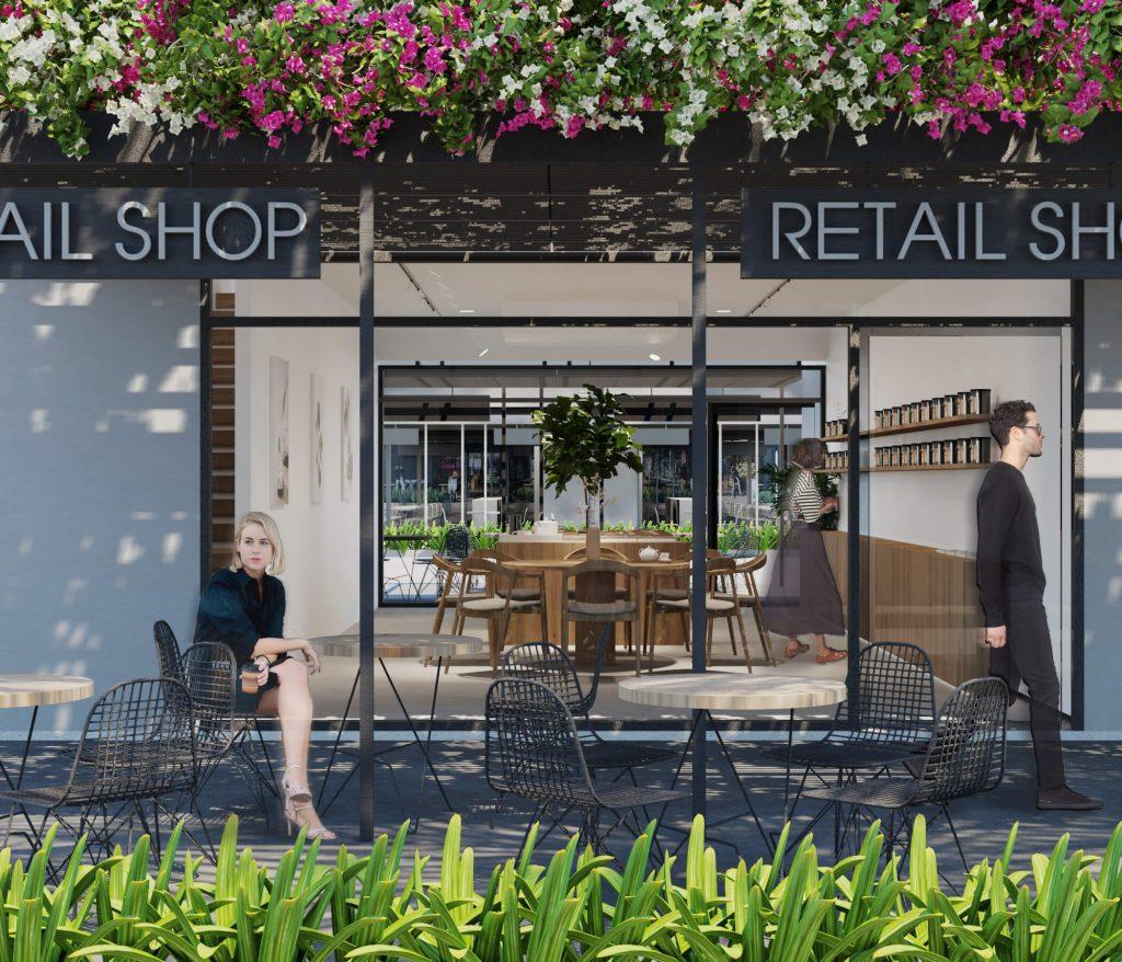 Retail Shop trệt