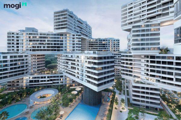 Chung cư có thiết kế đẹp nhất Thế Giới Interlace - singapore