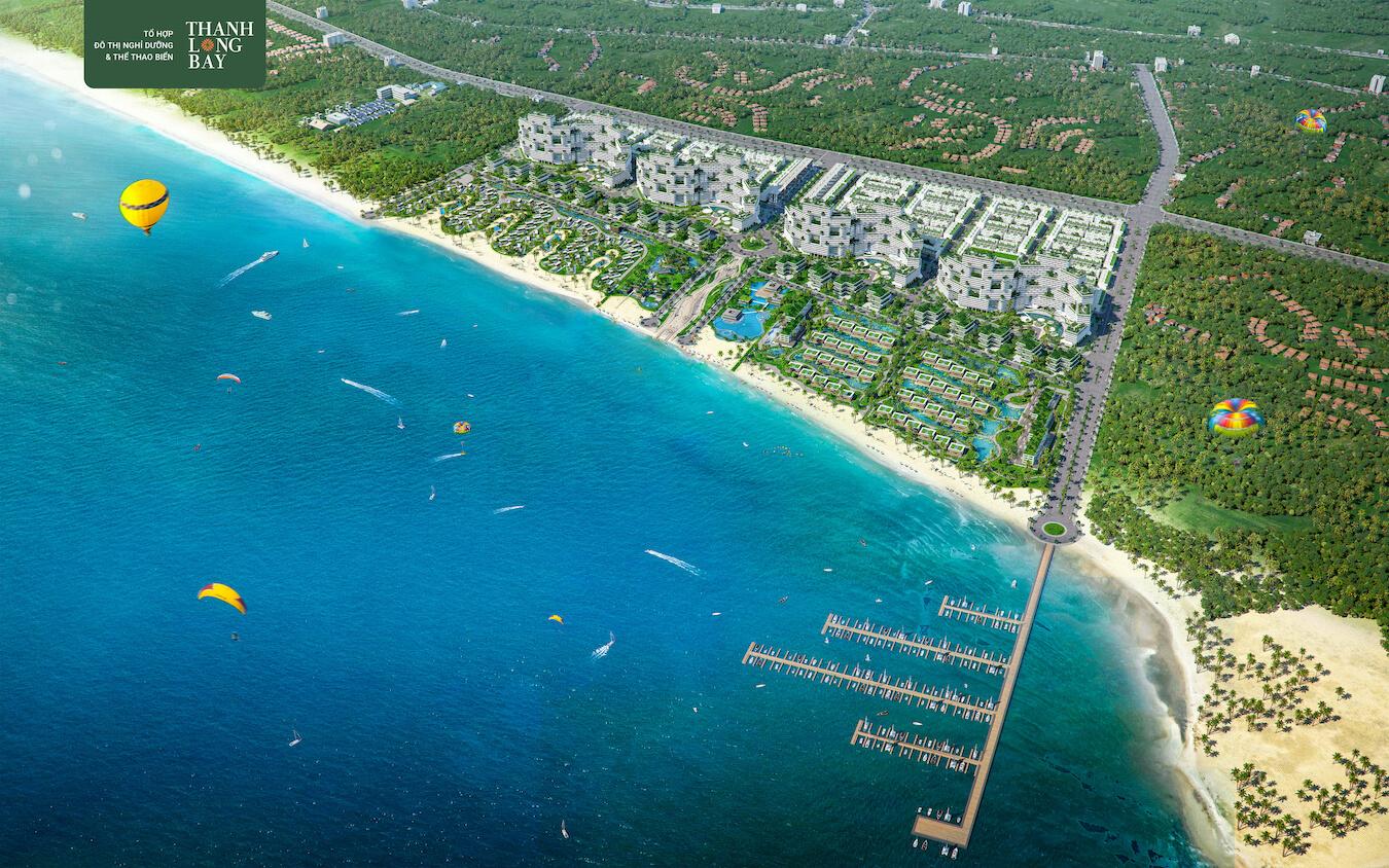 Thanh Long Bay Phối cảnh tổng thể 1