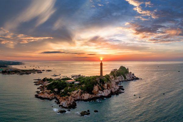 Thanh Long Bay Mũi Kê Gà Gần hải đăng kê gà