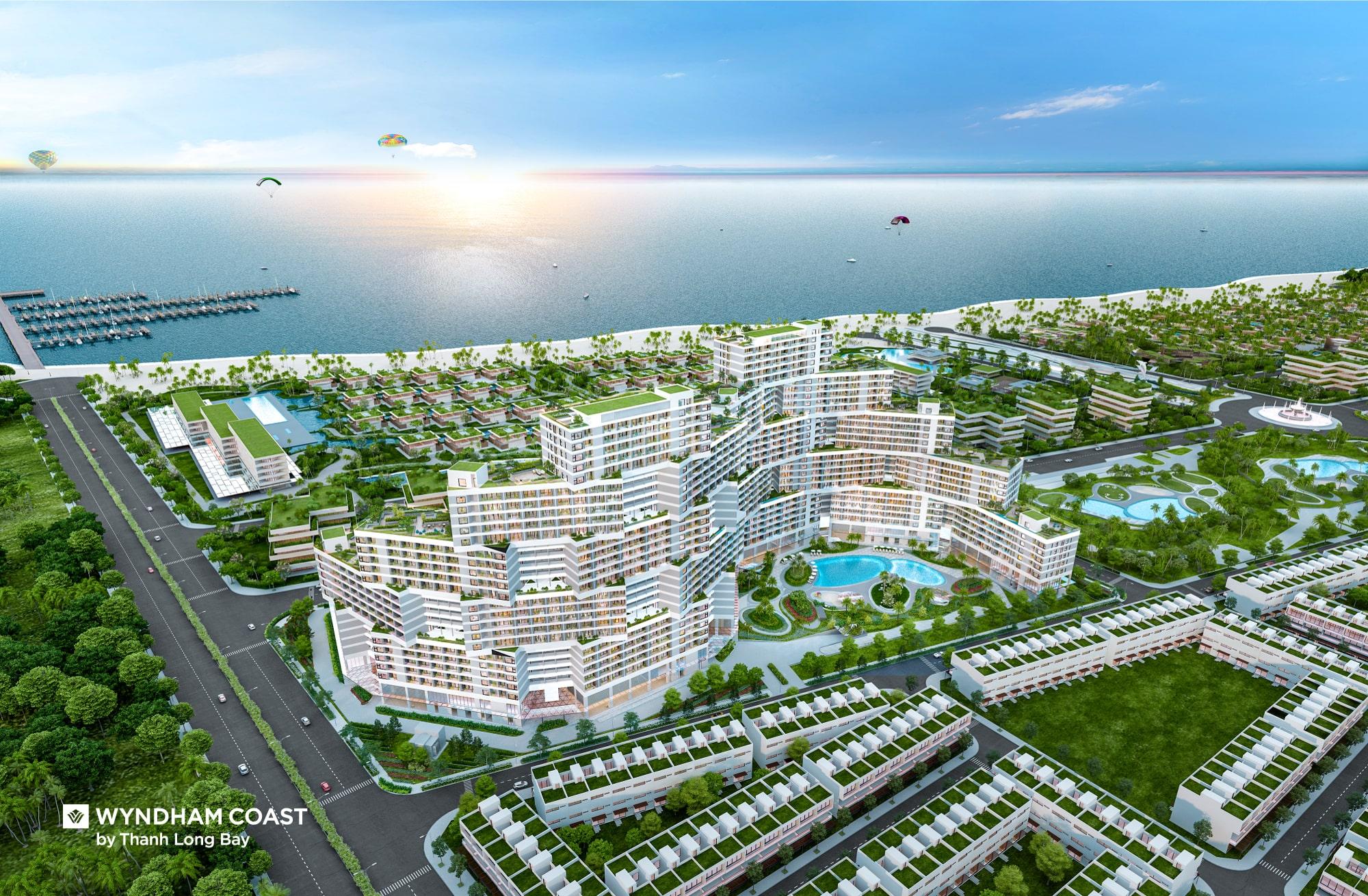 Phân khu căn hộ Wyndham Coast by Thanh Long bay