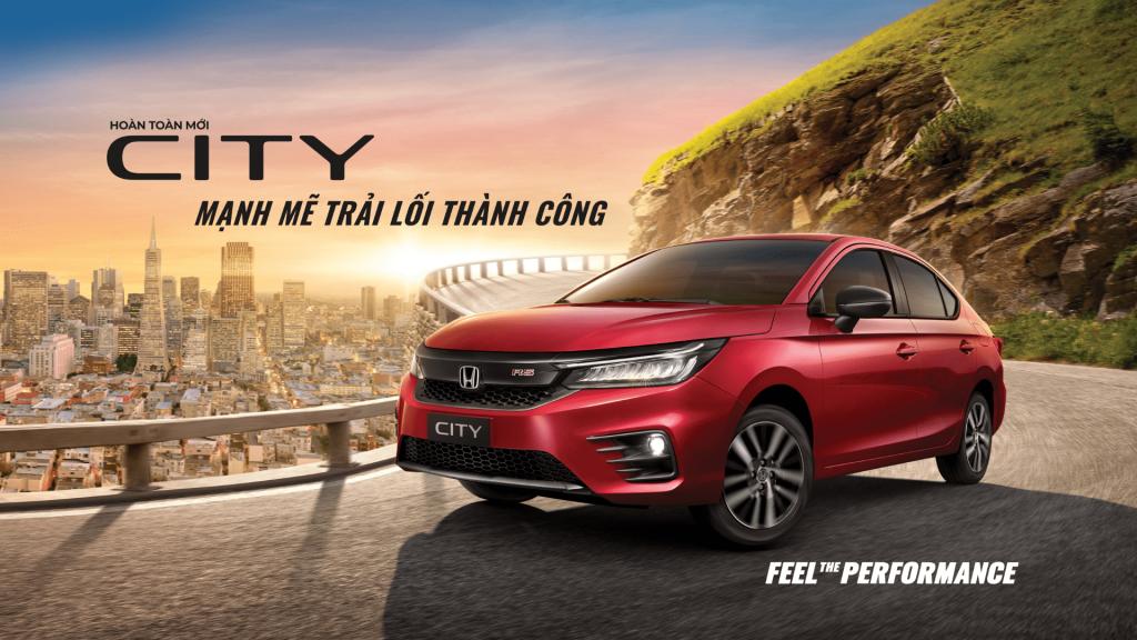 Hondacity - thuê xe dự lái quận Tân Phú