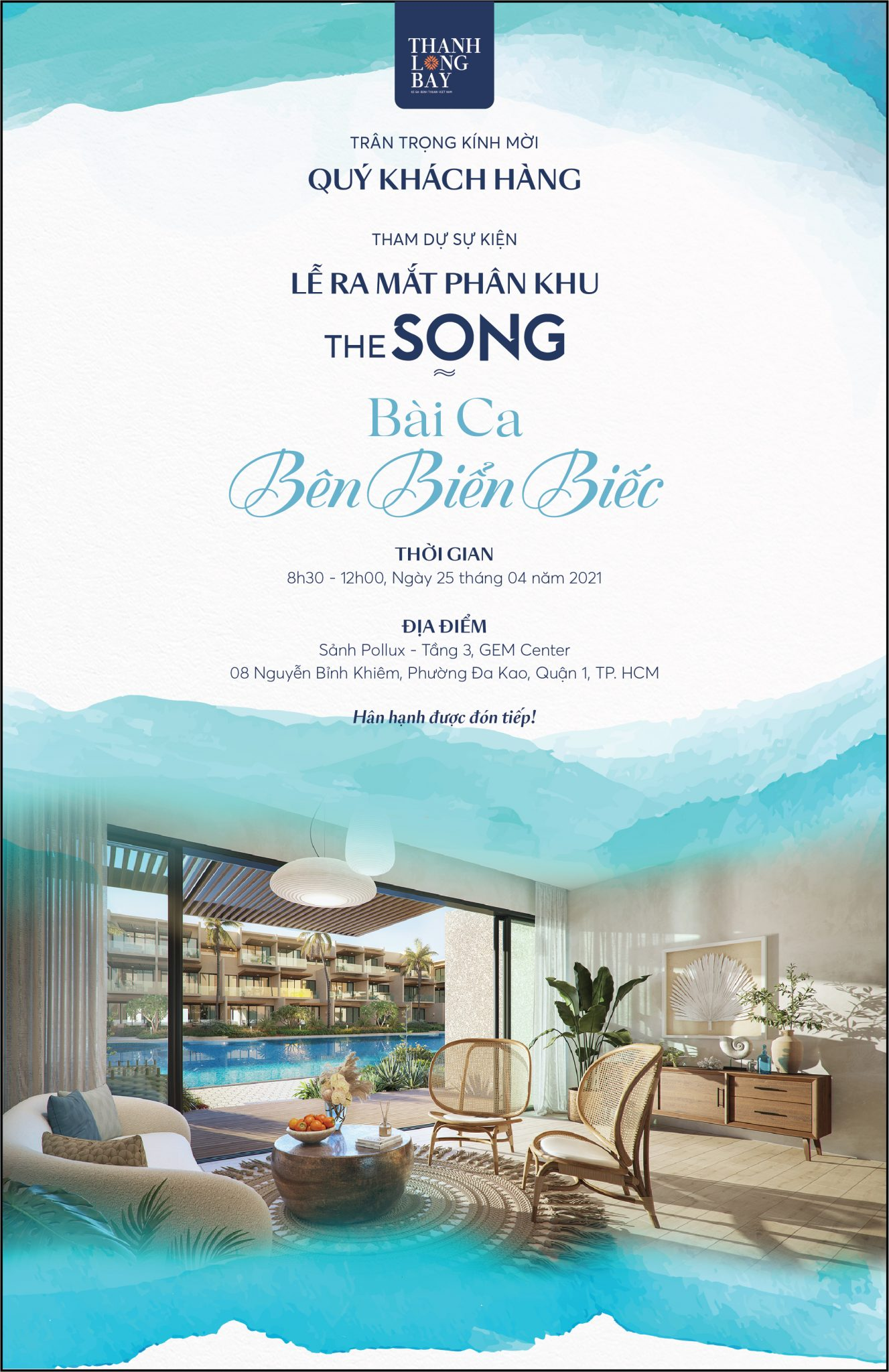 event công bố the song 25/04/2021