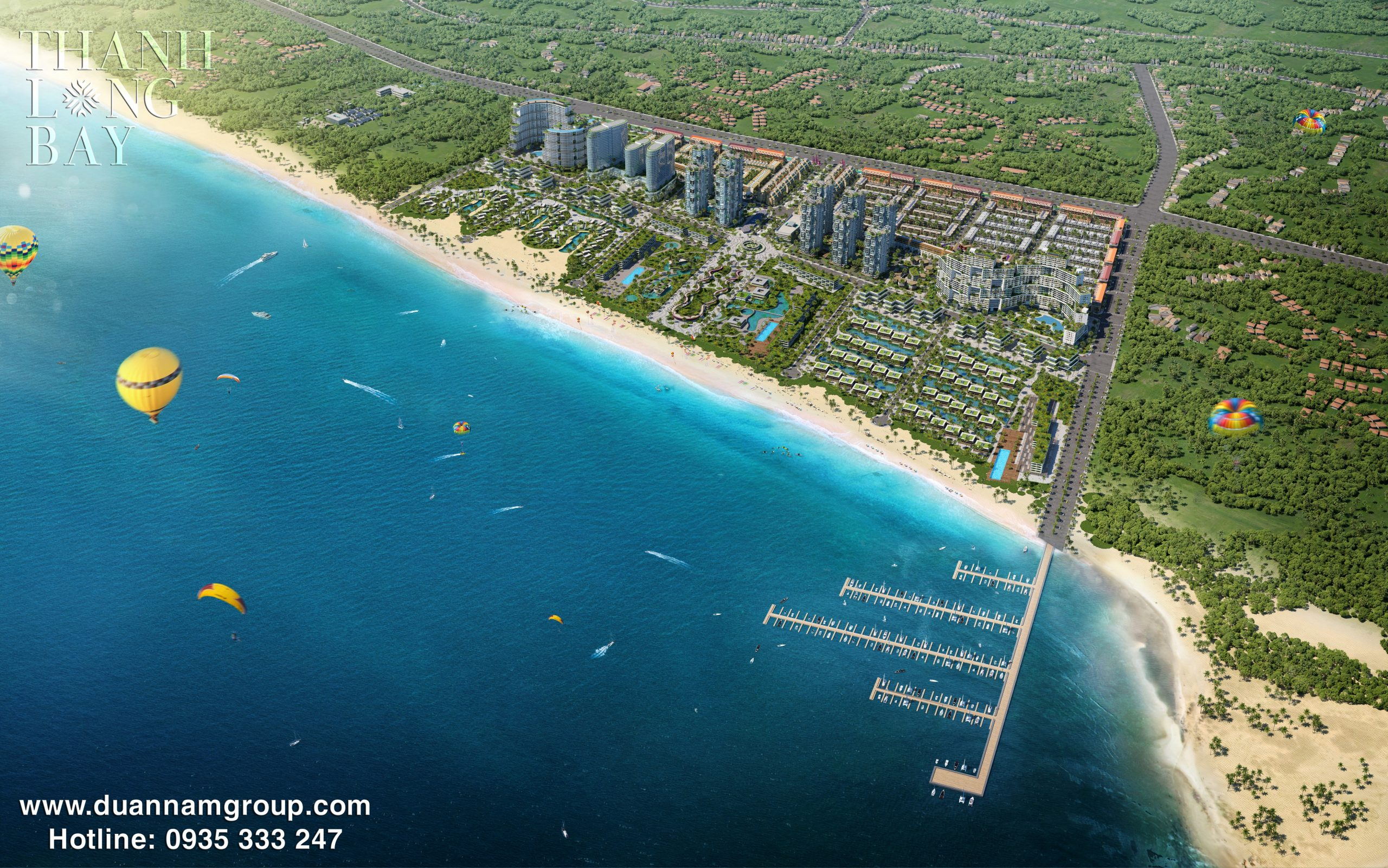 Thanh Long Bay Tổng Thể dự án