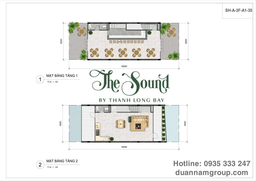 The Sound - Căn tiêu chuẩn - Tầng 1 tầng 2