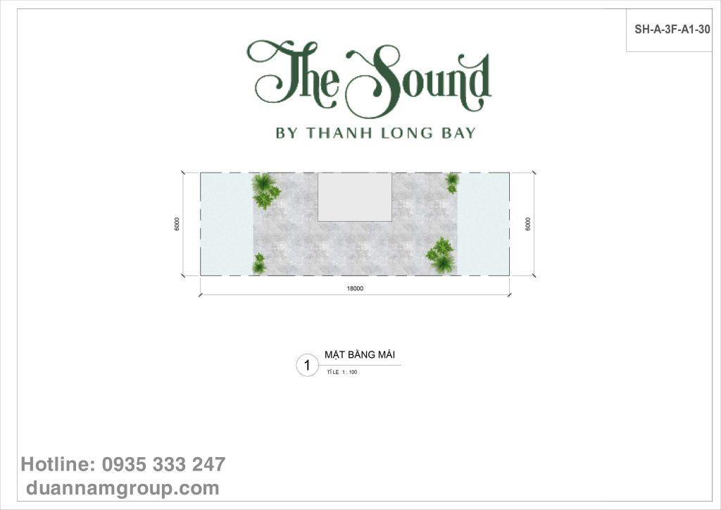 The Sound - căn tiêu chuẩn - tầng thượng