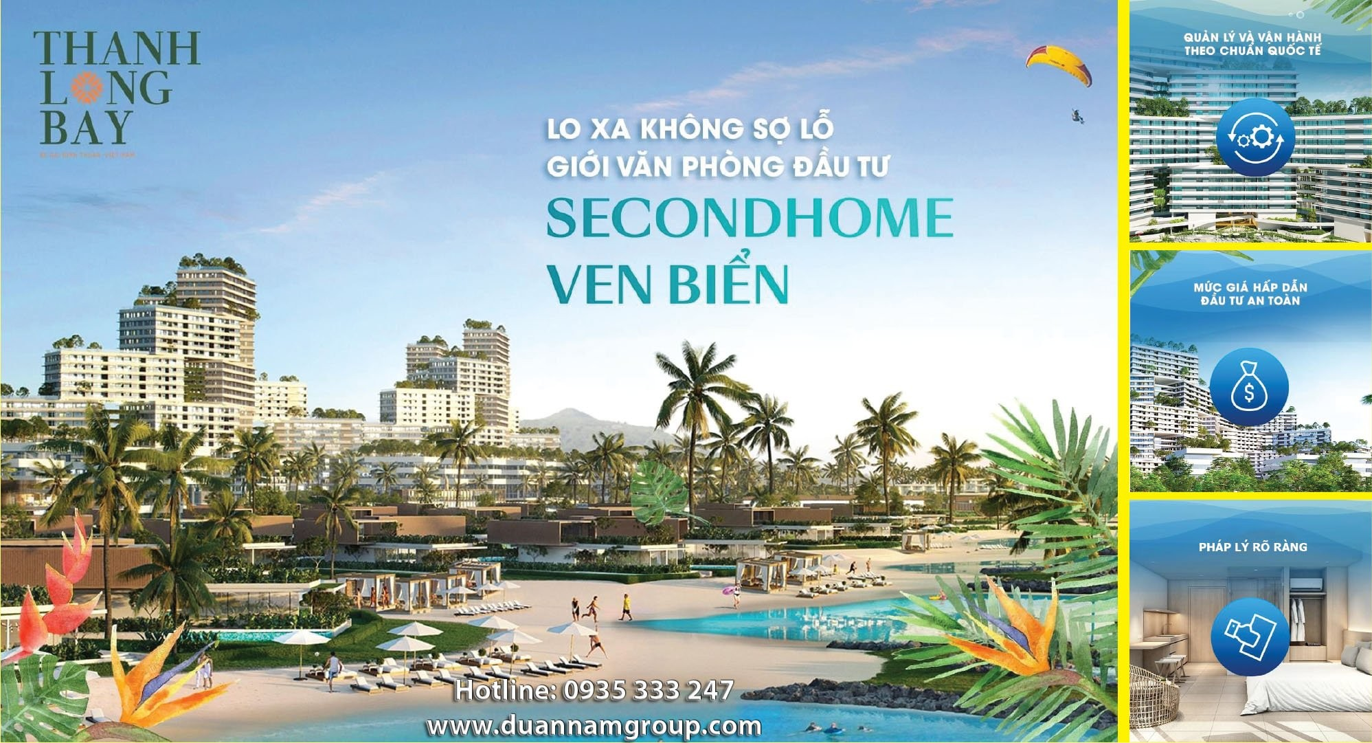 The Sound secondhome Thanh Long bay