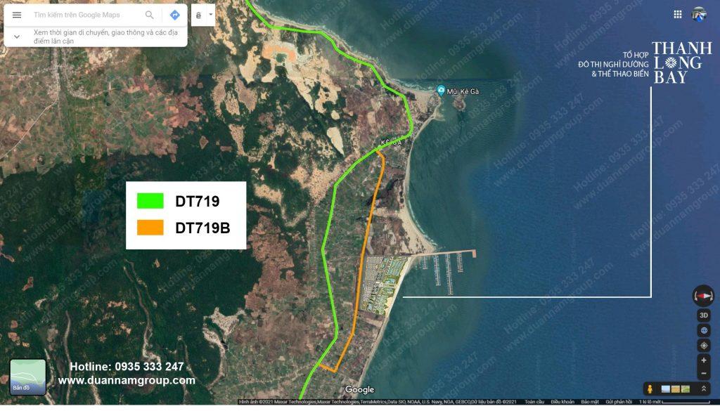 Vị trí Wyndham Coast Thanh Long Bay trên Google Maps