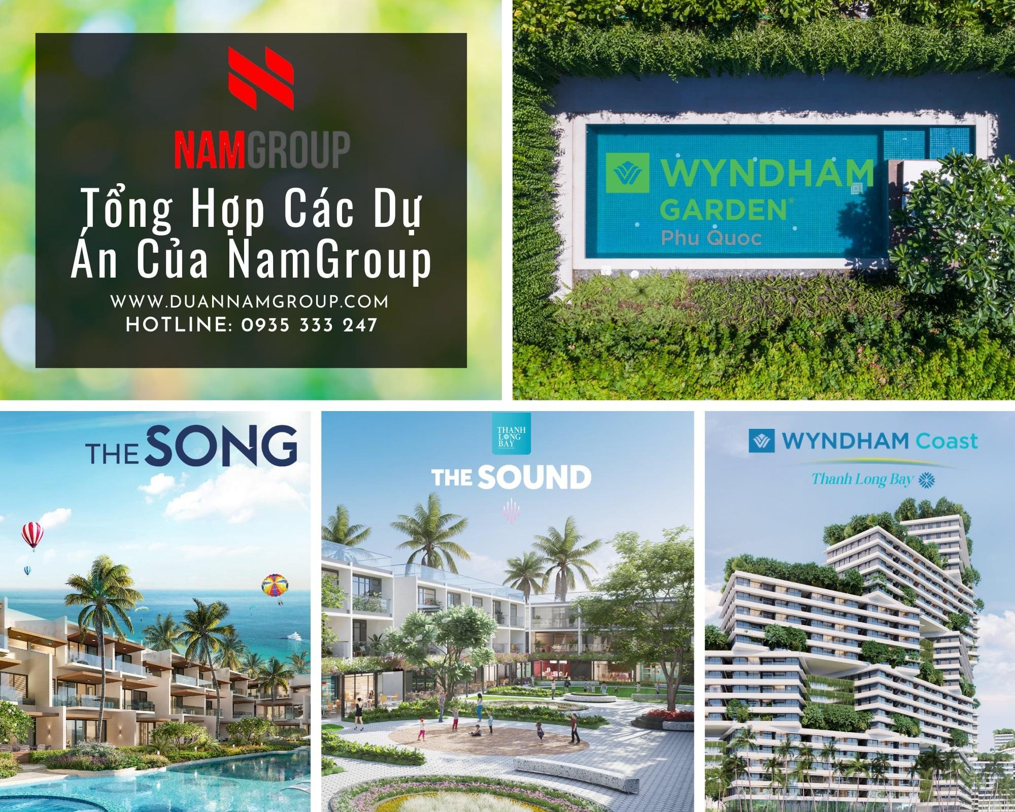 Các dự án của Nam Group